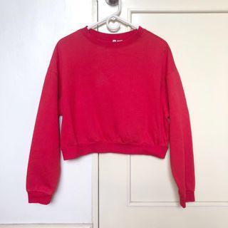 H&M cropped sweatshirt