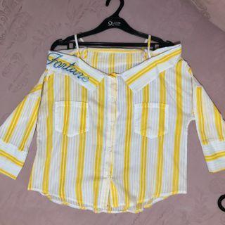Yellow sabrina shirt