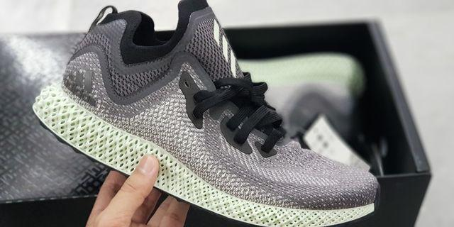 US 10 Adidas Alphaedge 4D ASW Grey