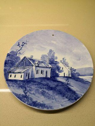 """""""Delft-Blue"""" (Hand-Painted) from Holland"""