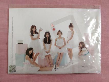 Apink 1st Concert Pink Paradise 2015 Pamphlet