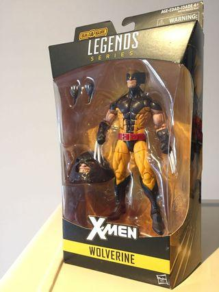 "MISB Wolverine 6"" Marvel Legends X-Men"