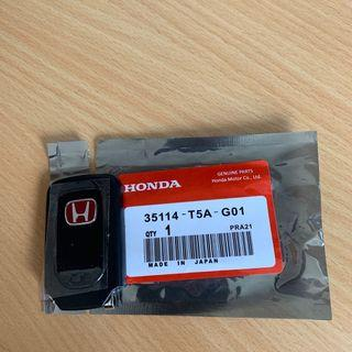 Honda Type R Smart Key Front Key Shell