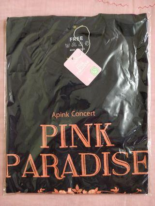 Apink 1st Concert Pink Paradise 2015 Official T Shirts (Both)