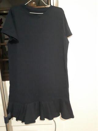 Navy blue Mermaid dress- Plus size from YVS