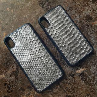 Case Kulit Ular Asli Iphone 6/7/8/X - Samsung - Oppo - Vivo