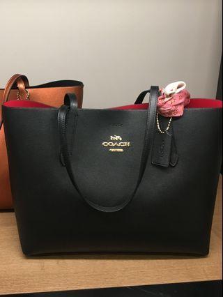 易襯款❣️Coach Avenue tote bag