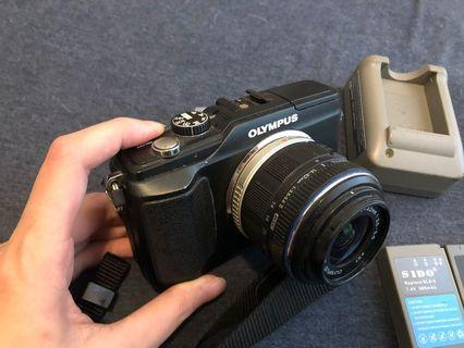 Olympus 換鏡相機 / EPL2 kit set