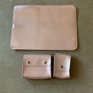 Rose Gold Bag Set