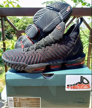 67ba483880 Nike Lebron XVI  Fresh Bred  Size12US Basketball Shoes