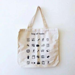 BN Bag of Tools Cotton Canvas Tote Bag