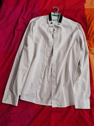 Givenchy Star Button down shirt