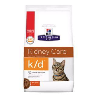 Instock | Hill's Prescription Diet k/d Kidney Care with Chicken Dry Cat Food