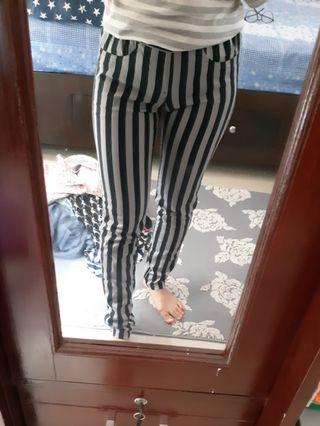 Stripe jegging