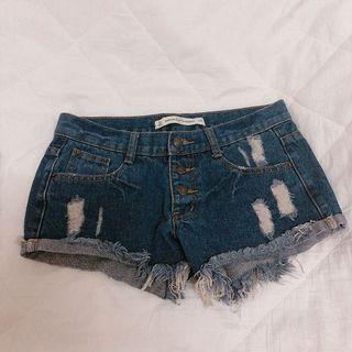 🖤超低腰破壞短褲🌹
