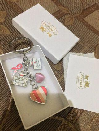 Coach Keychain authentic with box