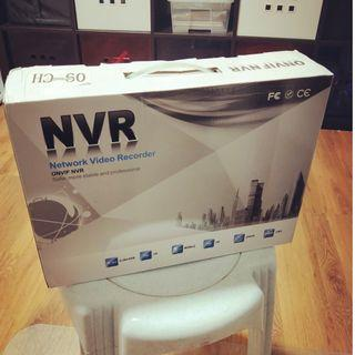 ONVIF NVR (Network Video Recorder) with box and all accessories. (U.P. $78)
