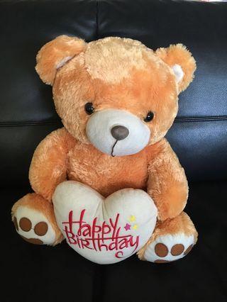 Big Bear soft toy