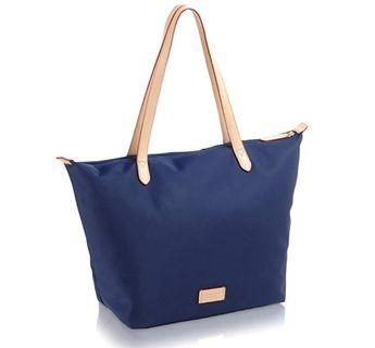 Radley London Pocket Essentials Large Nylon Tote Bag Navy Blue