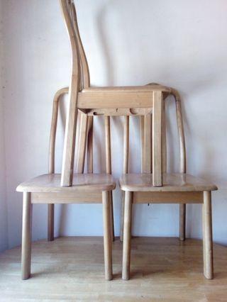 Meja makan + 3 kerusi