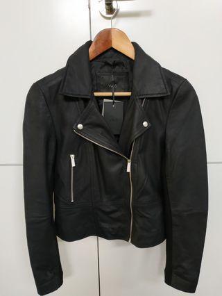 Leather Biker Jacket 8 - Y.A.S PETITE - $RRP $280 *PRICE DROP*