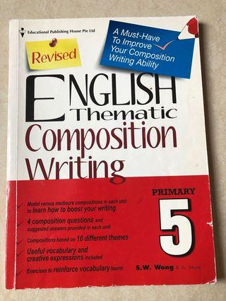 🚚 Revised English Thematic Composition Writing P5