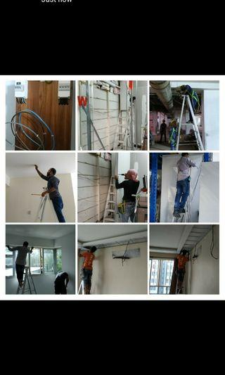 Electrical RE- wiring  and Renovation work.