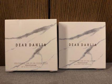 [[HOME CLEARANCE]] Dear dahlia mineral sunscreen spf 35 cushion