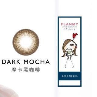 375 摩卡黑咖啡色 1day 晶碩光學