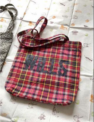 Jack Wills bookbag tote bags