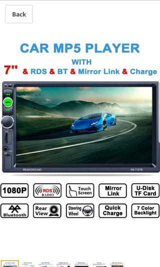reakosound car mp5 player rk7157b