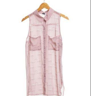 H&M Nude Swan Dress