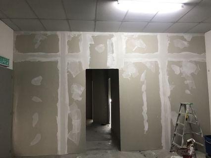 Partition Dinding Kapur Kering Untuk Rumah Lot Kedai Pejabat