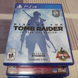 PS4 Rise of the Tomb Raider $30
