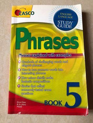 English language Study Guide Phrases