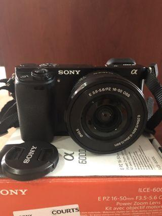 Sony A6000 Mirrorless Camera with Power Zoom Lens Kit