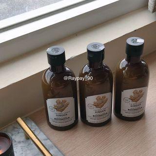 THE BODY SHOP 美體小舖 薑汁活絡護髮系列 頭皮調理護膚乳 大罐