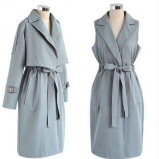 Chicwish 2-piece Trench Coat 3款著法 100% New