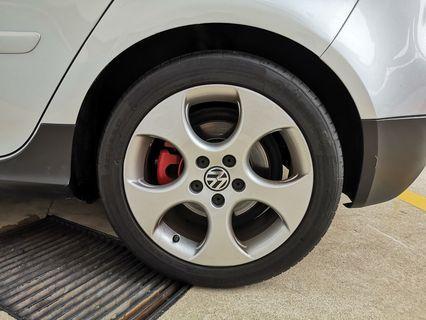 Stock 2008 Volkswagen Mk5 GTI Rims
