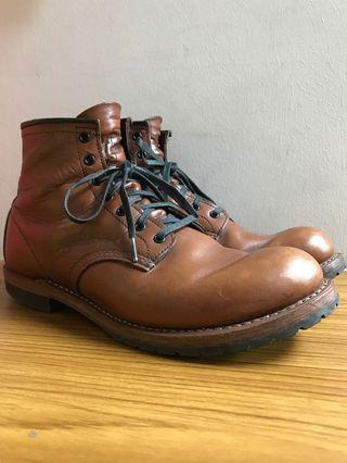 Red Wing Heritage Boots Beckman 9016 US9D Cigar Featherstone