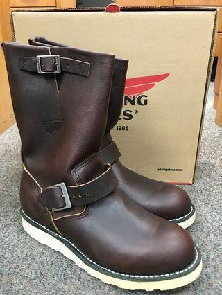 Red Wing Heritage Boots Engineer 2970 US8.5D Briar Oil Slick
