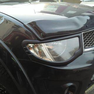 Mitsubishi TRITON Old 2008-2014 - Accessories Black Cover