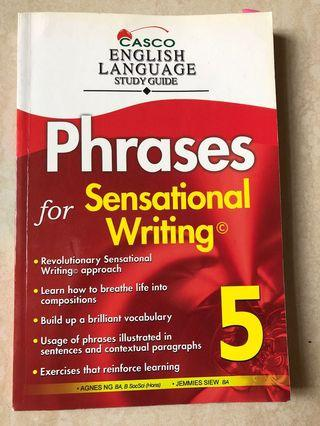 🚚 English Language Study Guide Phrases for Sensational Writing P5