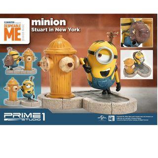 (預訂) Minions Stuart in New York Figure (日版, Prime 1 Studio) - 壞蛋獎門人 小小兵 模型