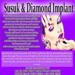 IMPLANT GOLD NEEDLES FOR ATTRACTION