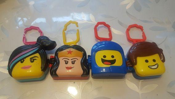 麥當勞玩具共7件