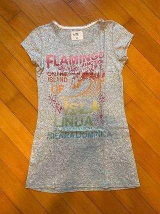 H&M kids printed long tee 女童印花長T恤