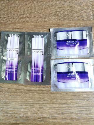Lancome 護膚套裝(精華+面霜)