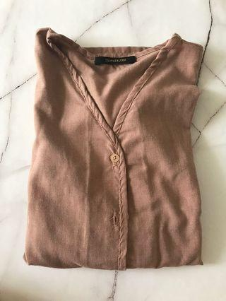 Brown Top by Shopatalen