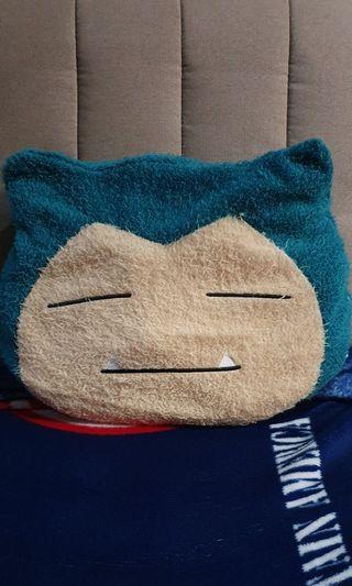 Snorlax cushion plush